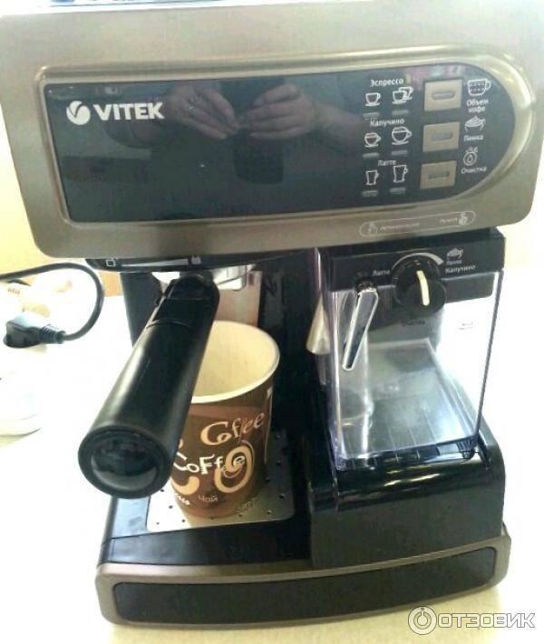 Топ 5 лучших кофеварок и кофемашин vitek по отзывам покупателей