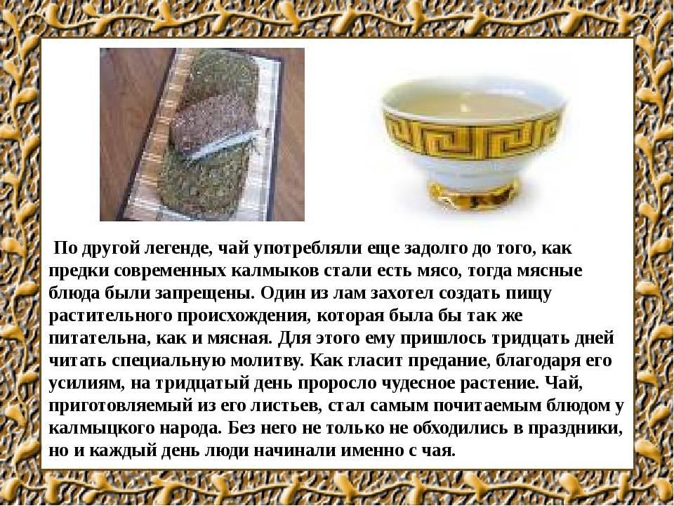 Калмыцкий чай: чем полезен легендарный напиток кочевников? | дары природы.су