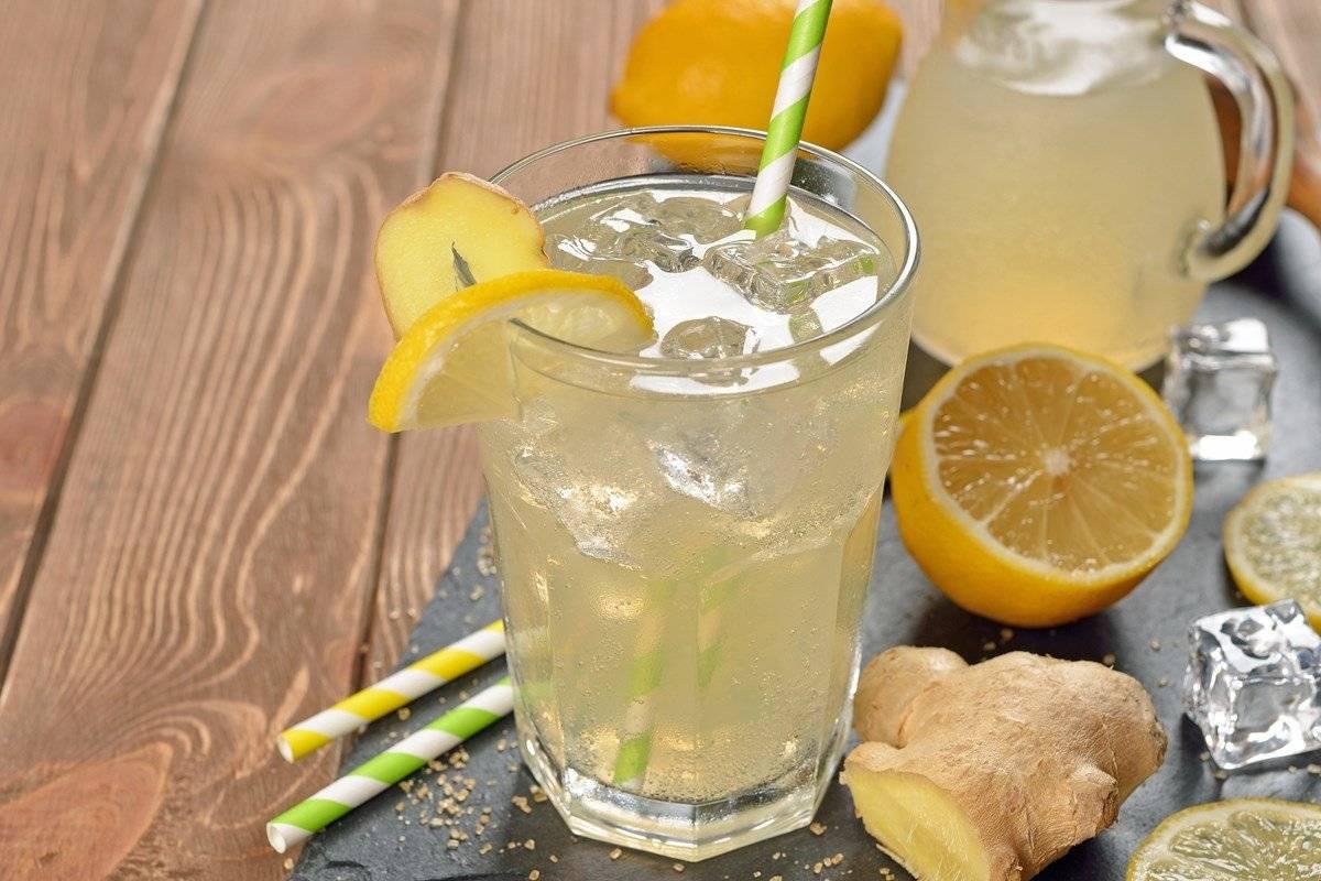 Лимонад с лимоном и имбирем для похудения: рецепт, употребление