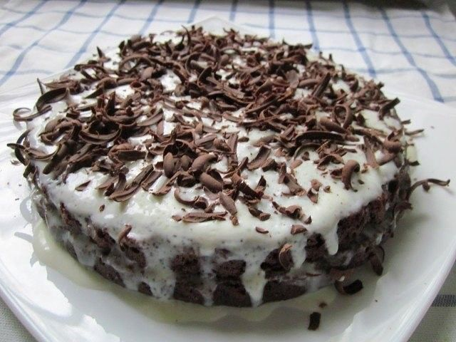 Шоколадный торт на кефире — 7 рецептов, как вкусно приготовить