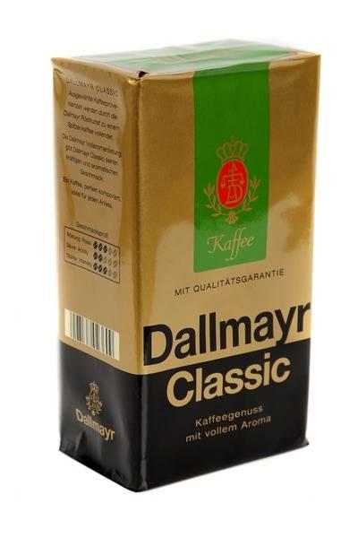 Кофе далмаер (dallmayr): виды марки, описание, история