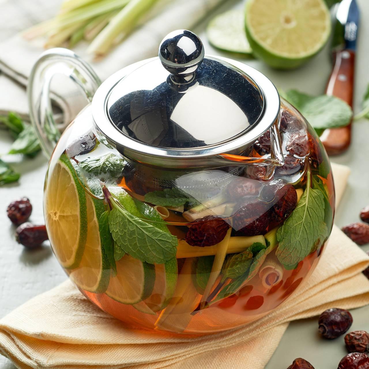 Для поддержания иммунитета – витаминный чай в домашних условиях