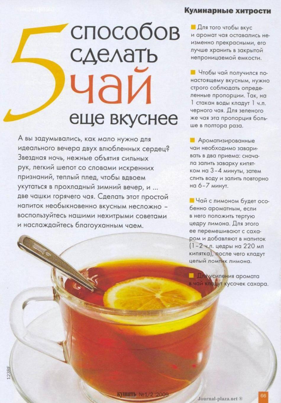 Чай с имбирем и лимоном, молоком, куркумой, мятой: польза и вред, как заваривать