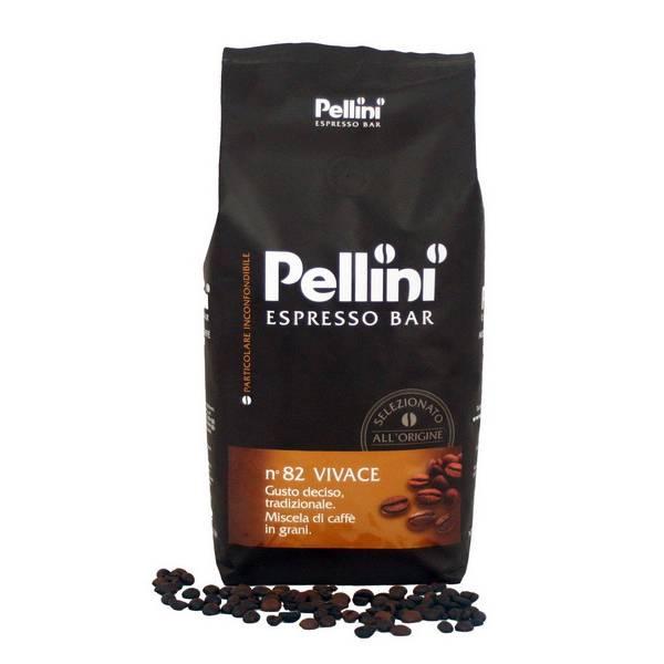 Кофе в зернах pellini №82 vivace 0.5 кг — цена, купить в санкт-петербурге
