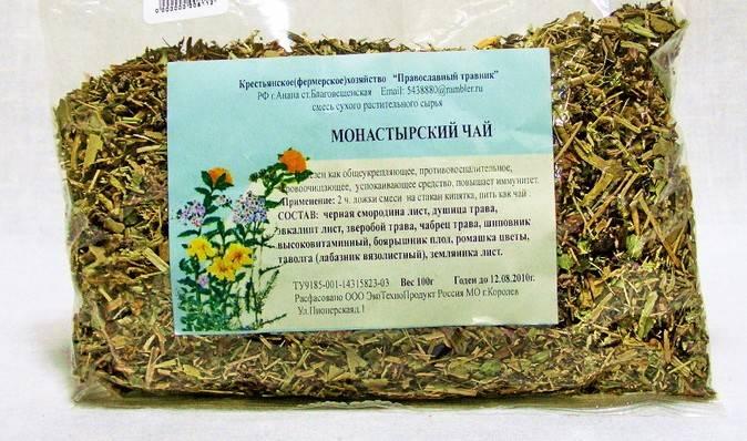 Монастырский чай от диабета: состав, полезные свойства