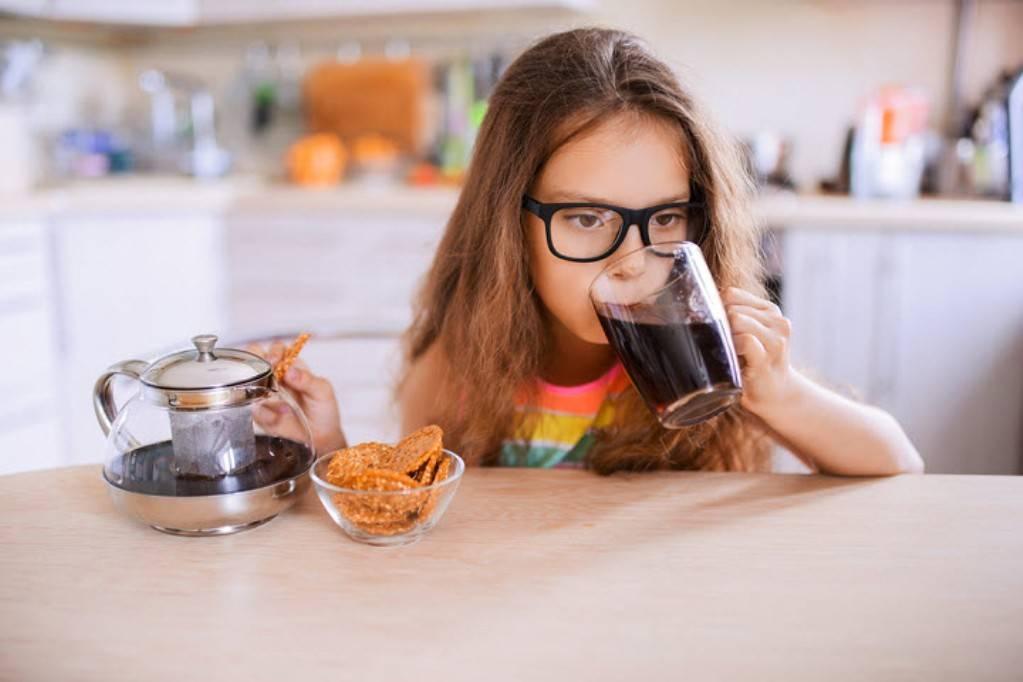 Со скольки лет можно пить кофе детям, с какого возраста