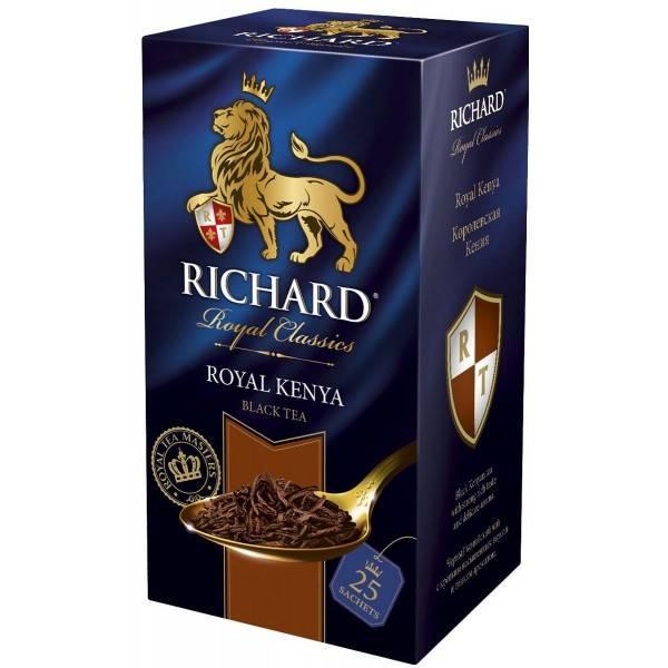 История бренда чая richard, ассортимент, отзывы