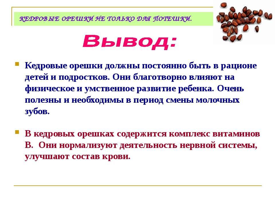 Полезные свойства кедровых орехов и способы их применения для женщин и мужчин