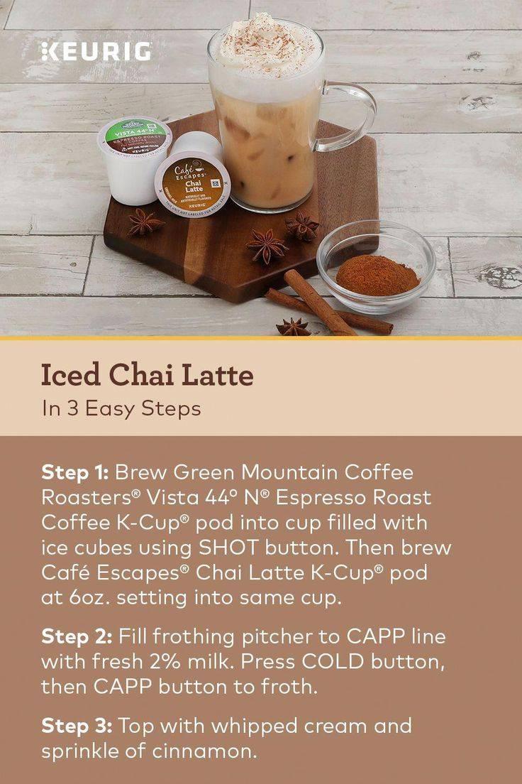 Латте чай - рецепты, как сделать вкусный чай латте как в старбаксе