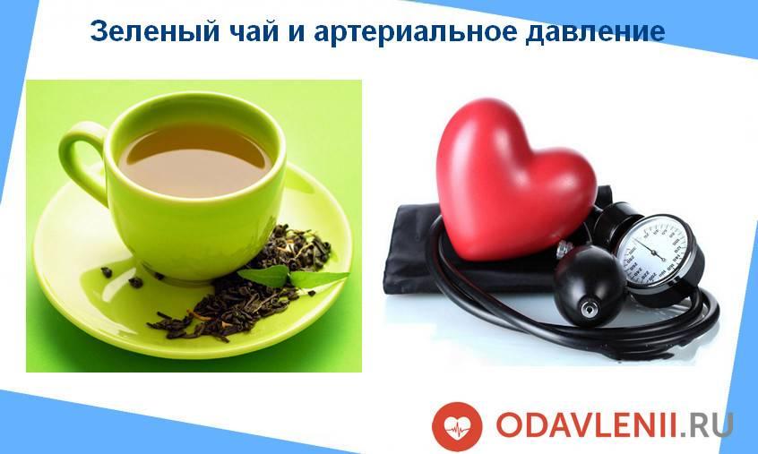 Зеленый чай и наше давление