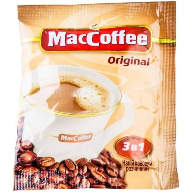 Кофе три в одном (3 в 1) нескафе и maccoffee вред, польза и калорийность