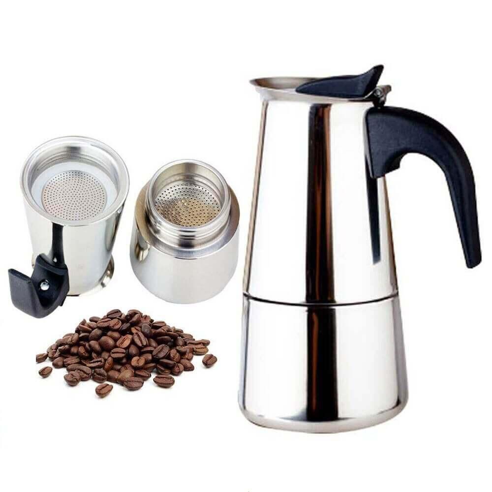 Гейзерные кофеварки для газовой плиты