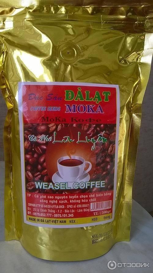 Кофе из вьетнама лювак, кули и далат: цена, где покупать, как разлечить