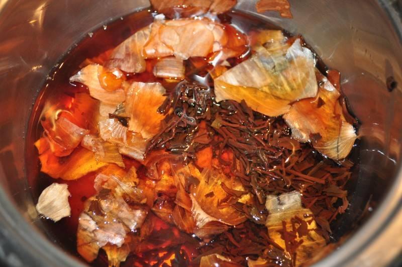 Свойства лукового чая из шелухи и рецепт приготовления
