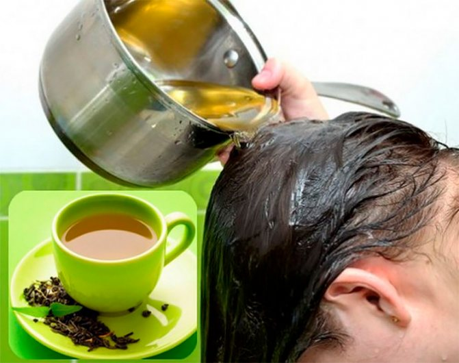 Отвар чая для волос. черный и зеленый чай для волос – правила ополаскивания.