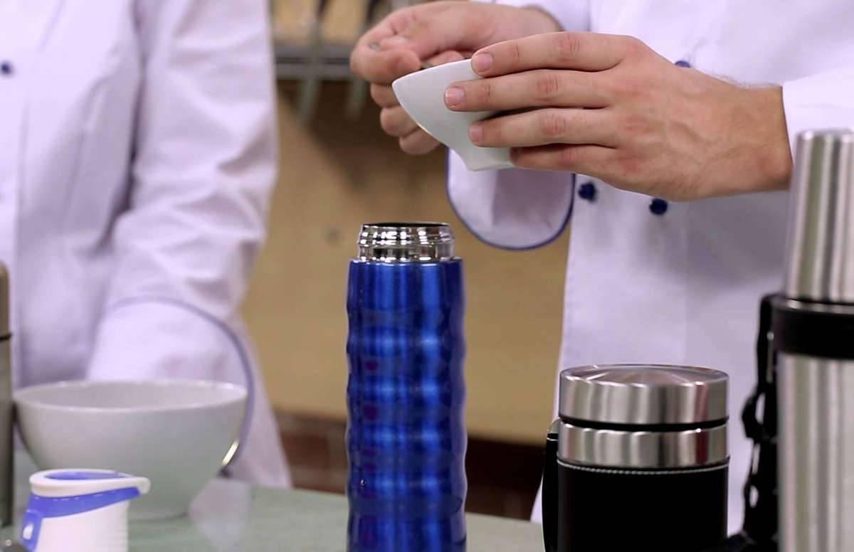 Методы чистки термоса от чайного налета внутри