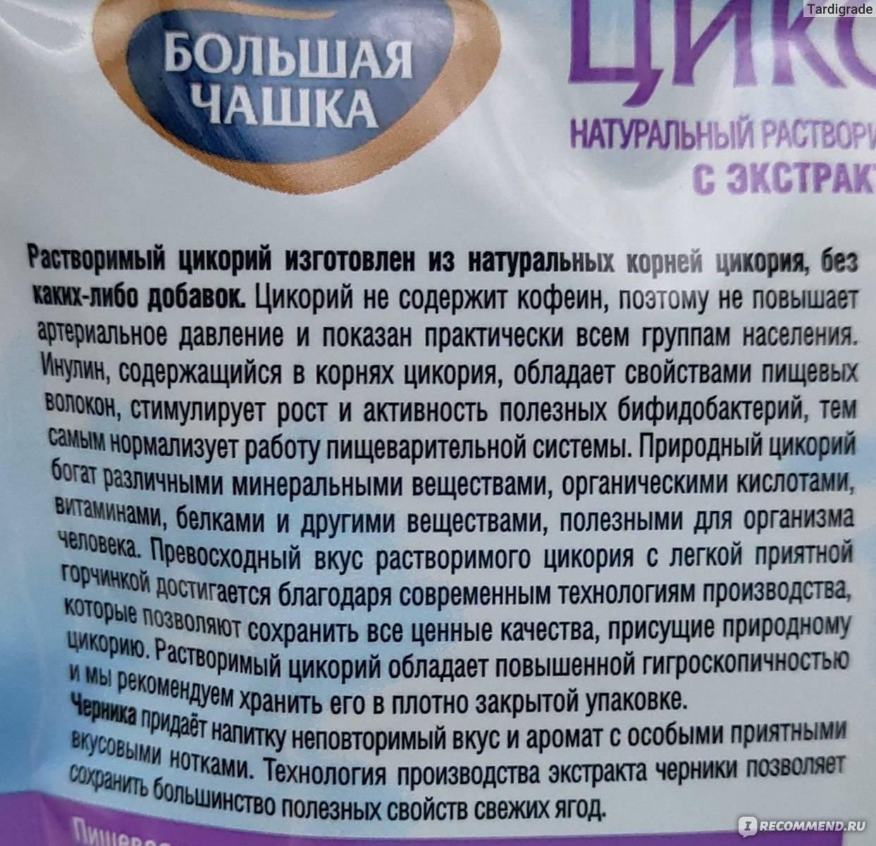Цикорий - полезные и опасные свойства цикория
