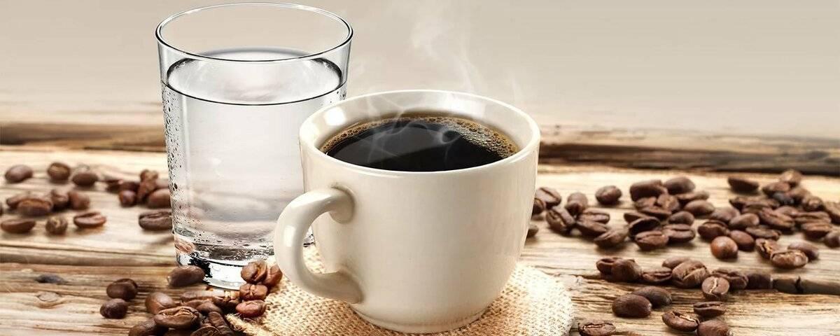 Зачем к кофе подают воду - здоровье | доброхаб
