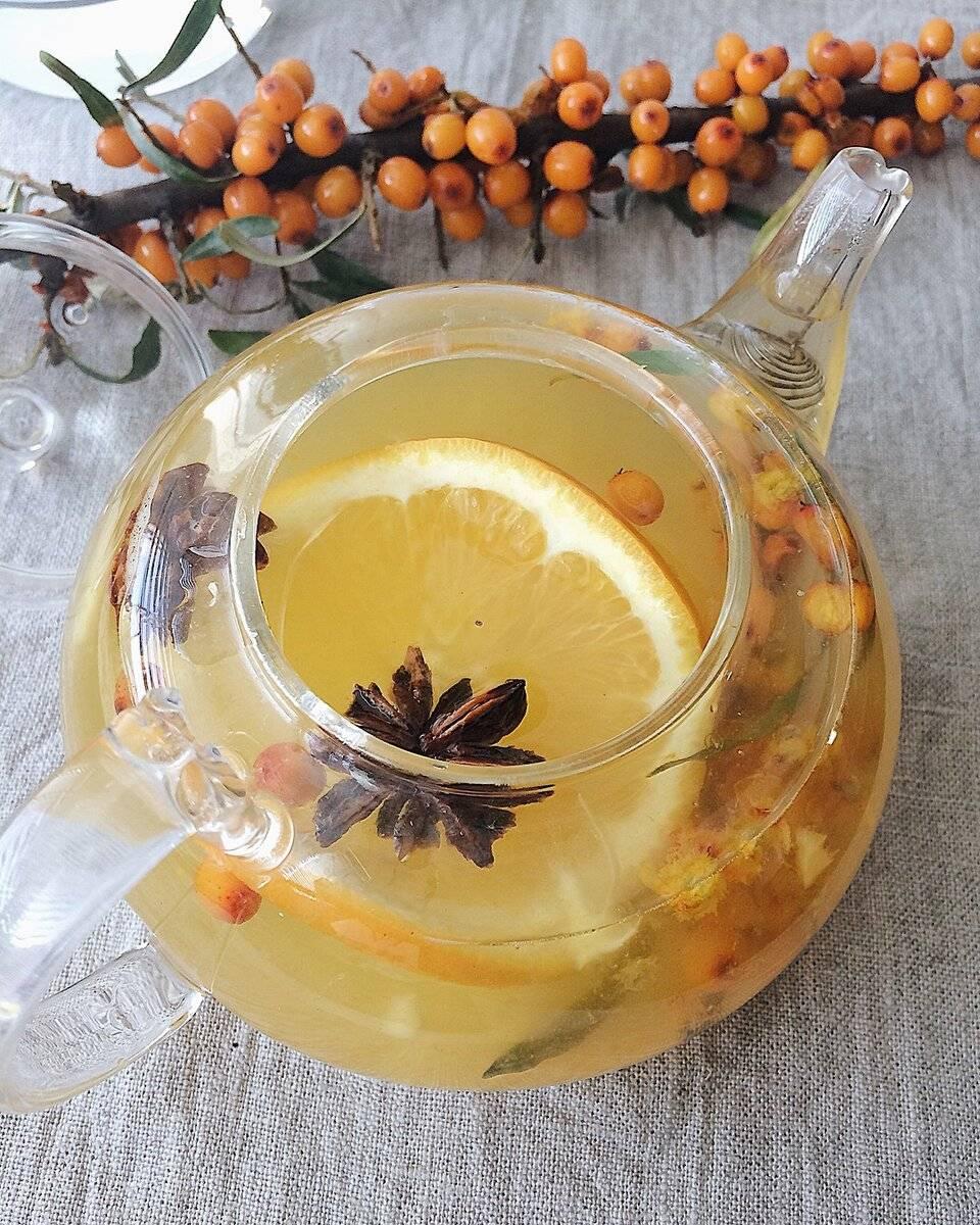 Чай из облепихи: полезные свойства
