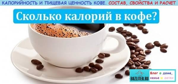 Кофе: польза и вред, состав