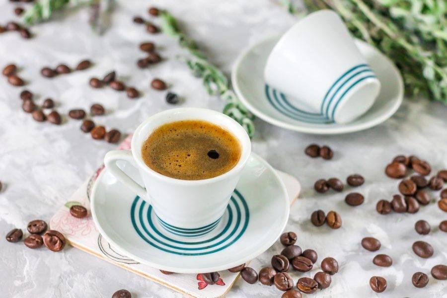 Как приготовить кофе эспрессо. рецепт кофе эспрессо в домашних условиях, без кофемашины