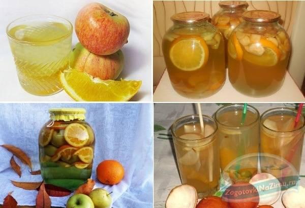Компот из апельсинов – 6 лучших рецептов приготовления
