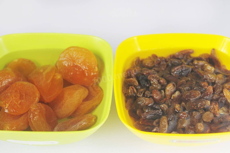 Компот из изюма и сушеных яблок с корицей рецепт с фото - 1000.menu