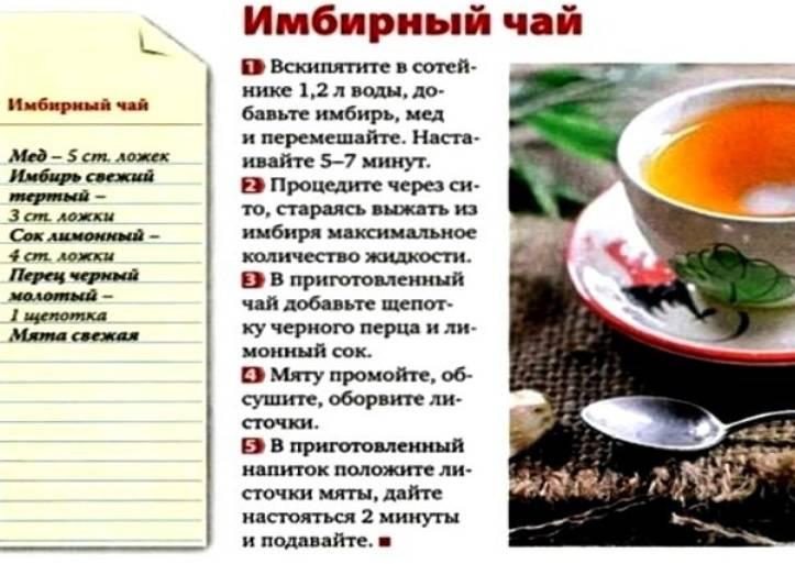 Польза чая с медом и лимоном при простуде: 7 рецептов приготовления!