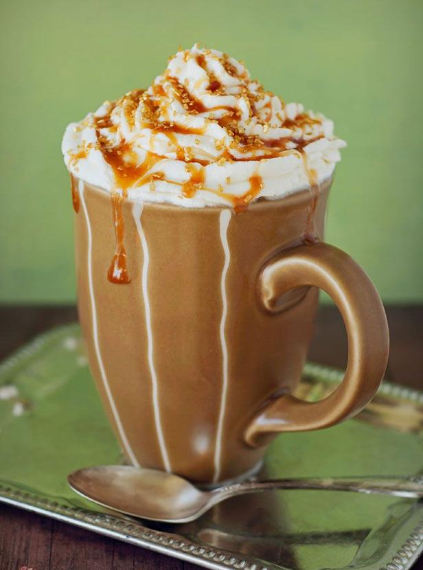 Рецепты кофе с карамелью из сахара
