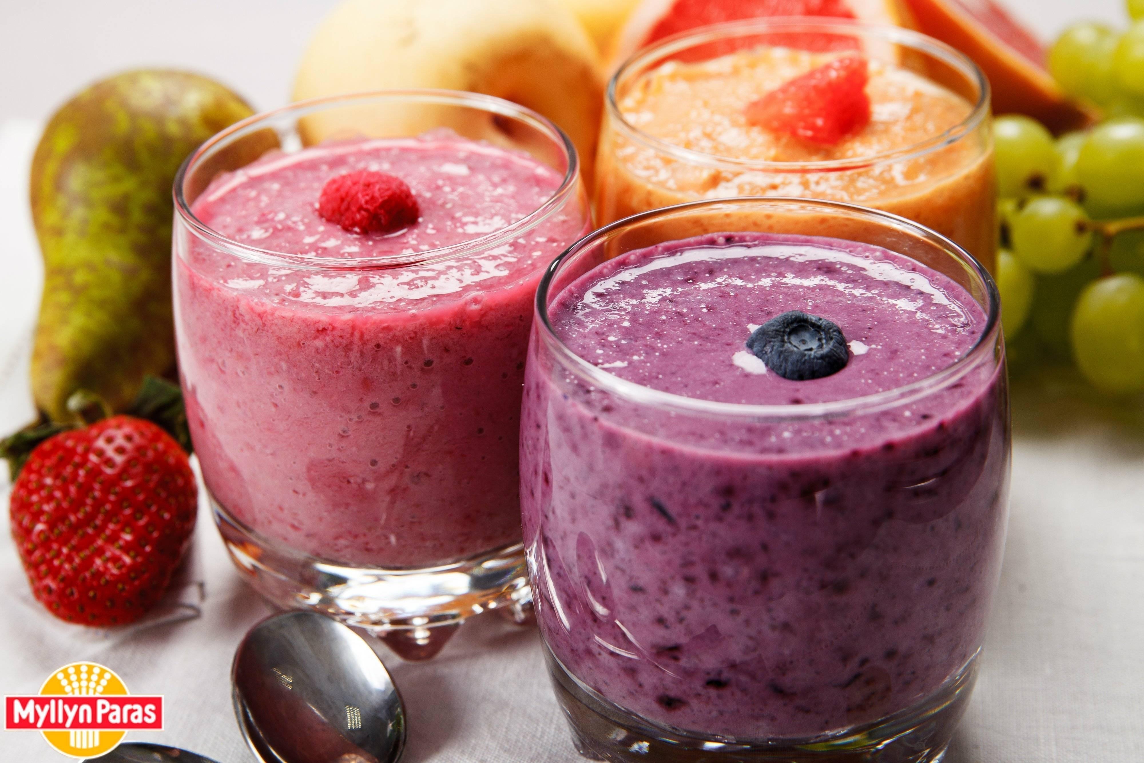 Смузи из малины и черной смородины: пошаговый рецепт с фото