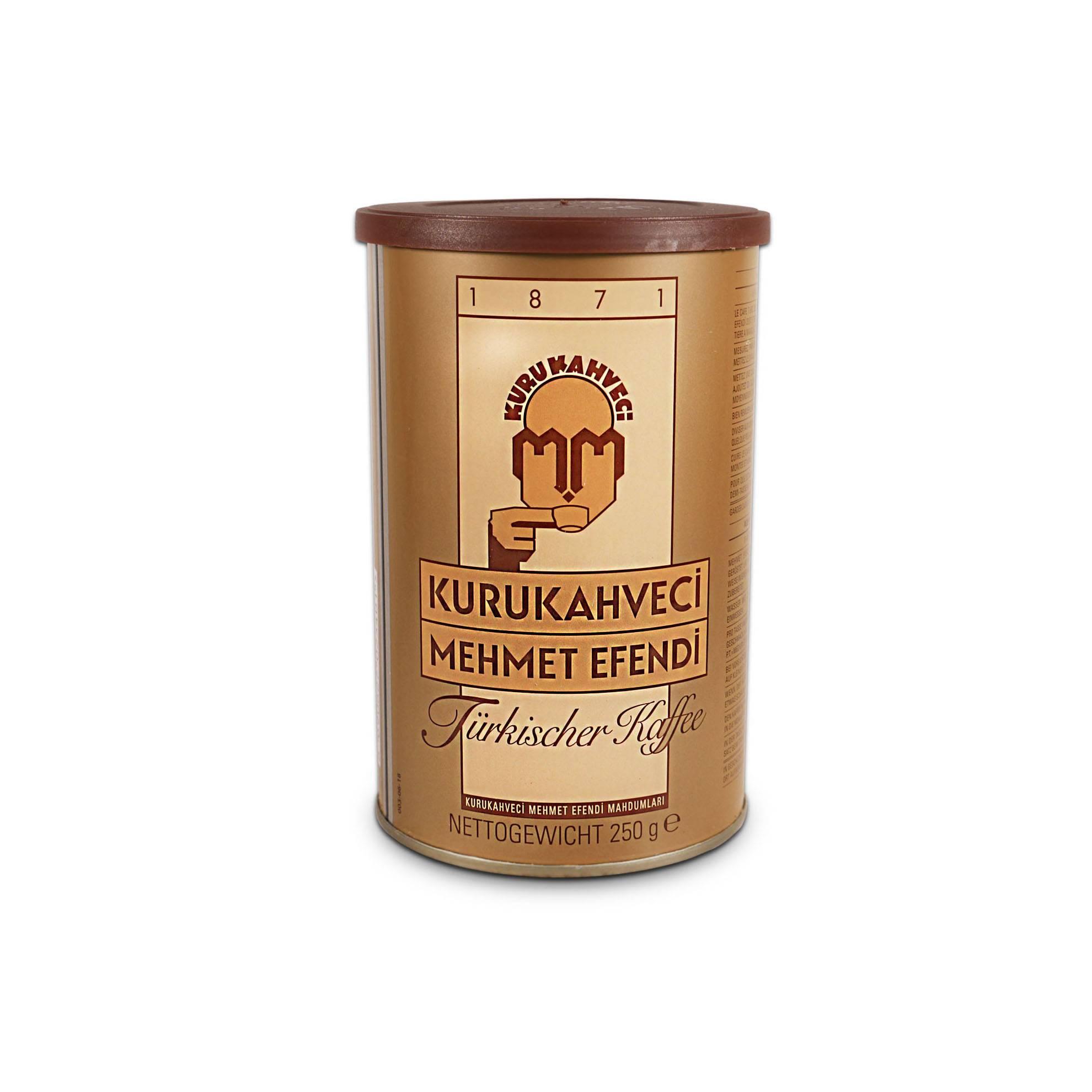 Кофе мехмет эфенди (mehmet efendi): описание и виды марки