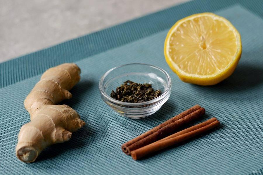 Чай с имбирем — 10 рецептов имбирного напитка