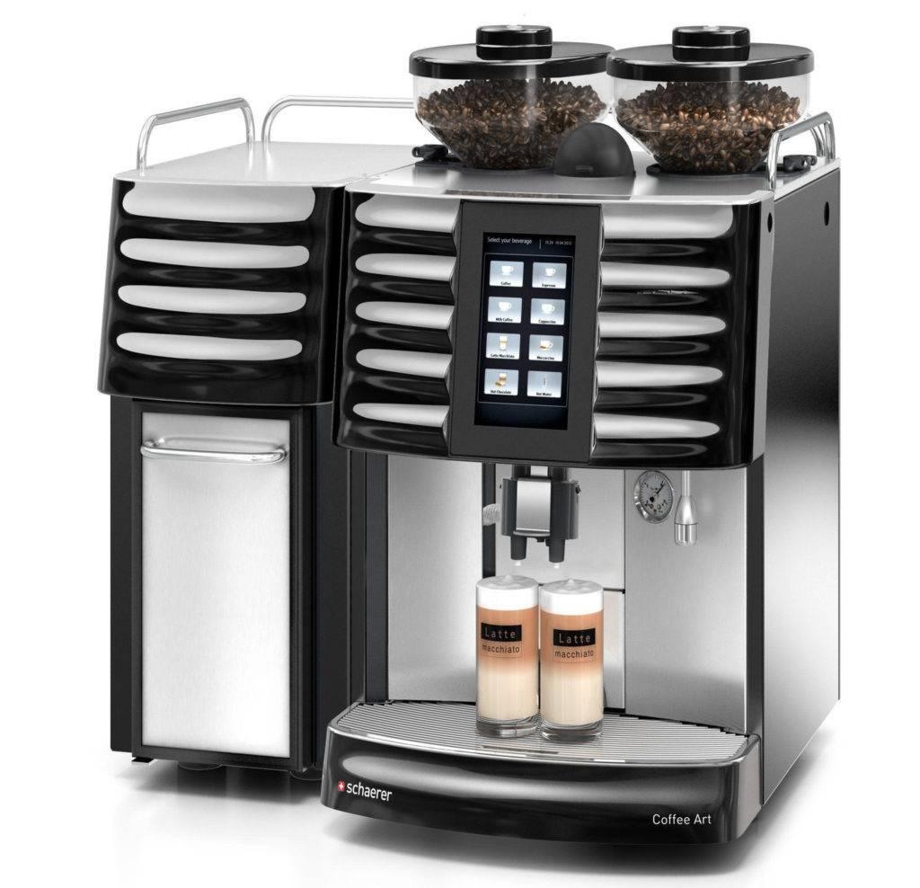 Как выбрать автоматическую профессиональную кофемашину для кофейни
