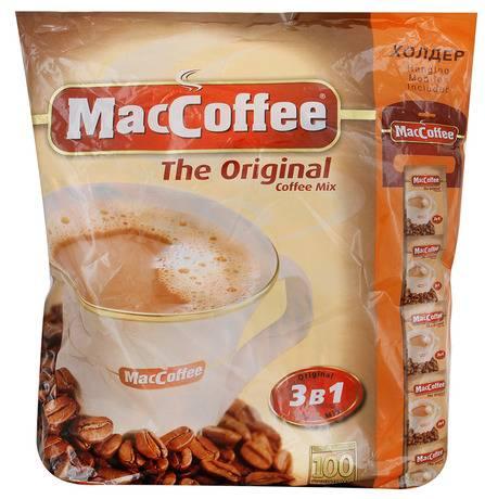 Из чего делают популярный Маккофе 3 в 1