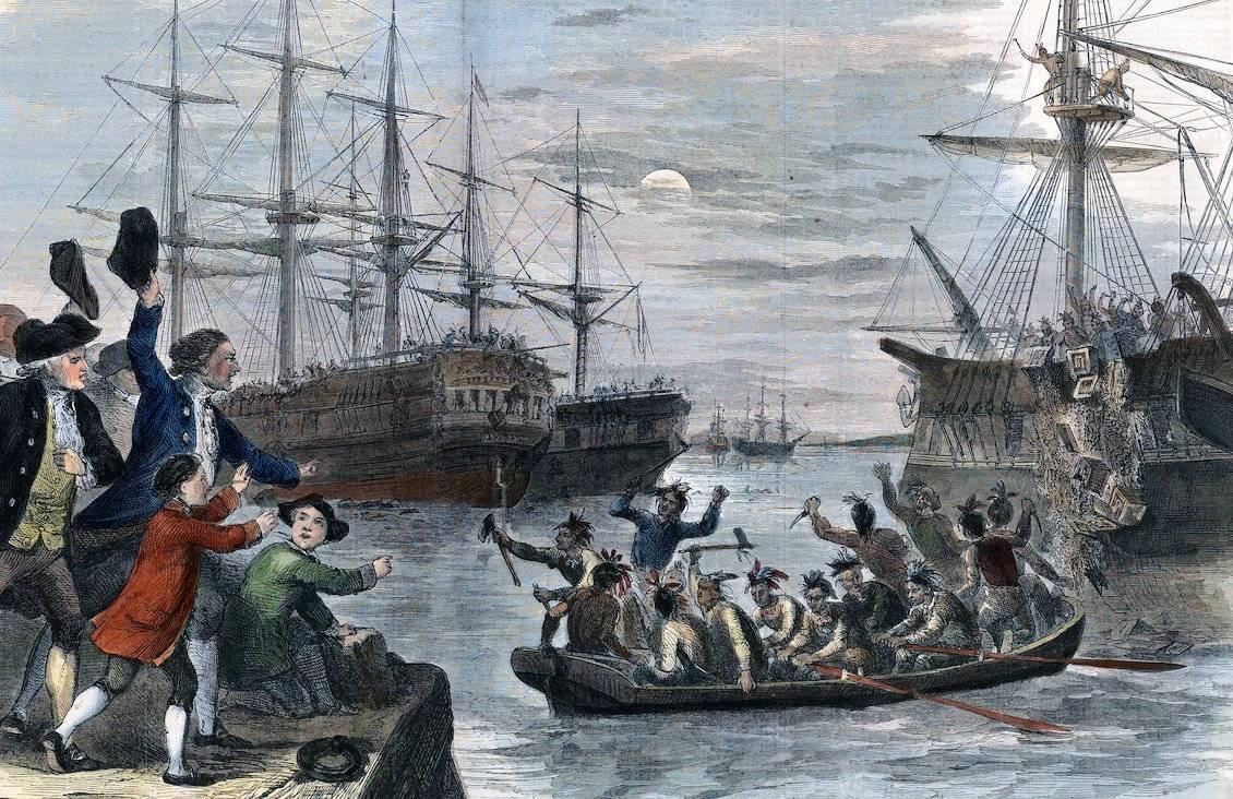 К 245-летию бостонского чаепития: почему 40 тонн чая стоимостью 1,5 миллиона долларов утопили в воде