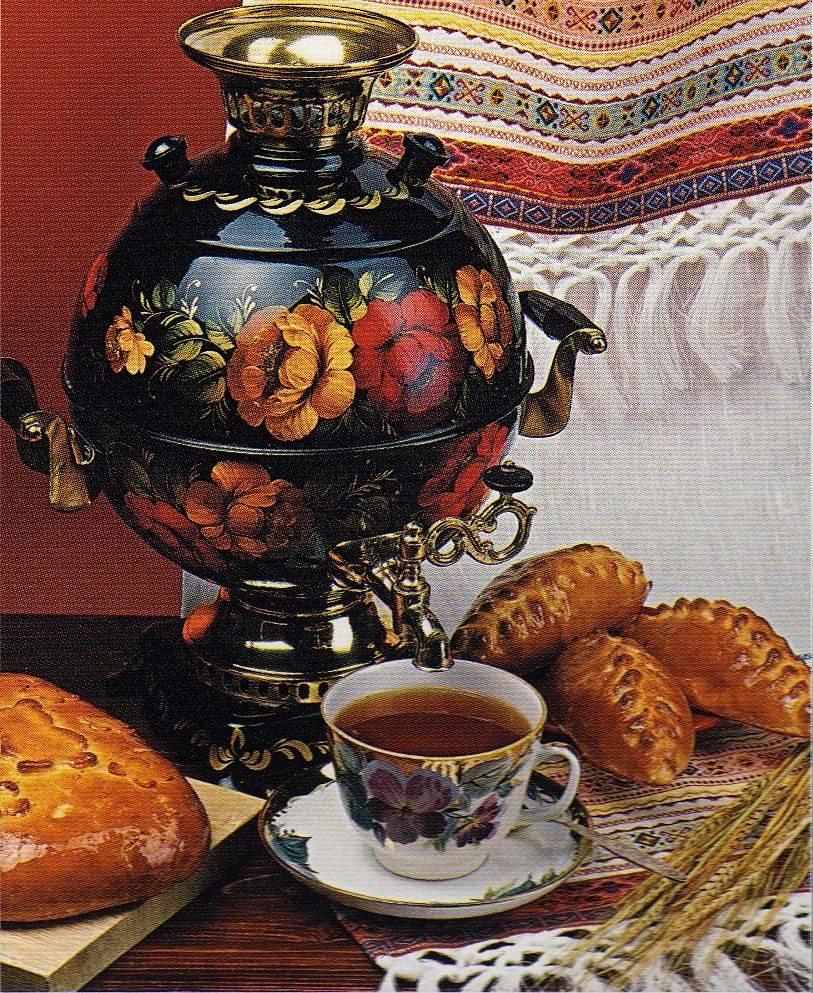 История чаепития в россии