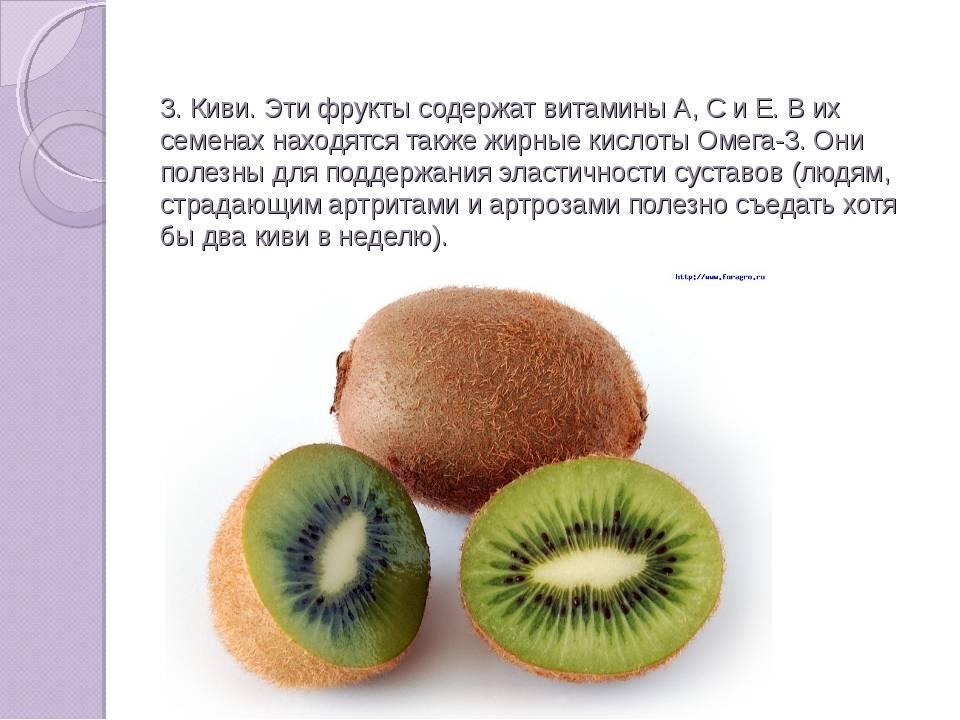 Фрукты киви: состав, польза и вред для организма, сферы применения