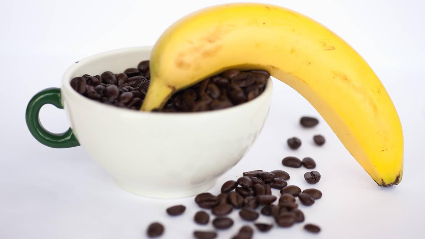 Рецепты кофе с бананом – необычное сочетание с нежным вкусом