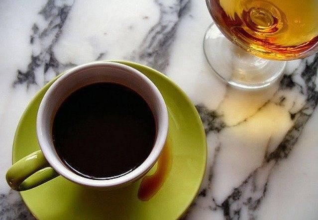 Рецепт польза и вред кофе с коньяком