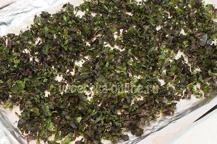 Как сушить базилик, полезные свойства и применение в домашних условиях