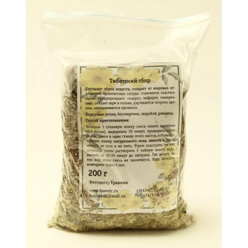 Тибетский сбор трав для очищения организма: полезные свойства