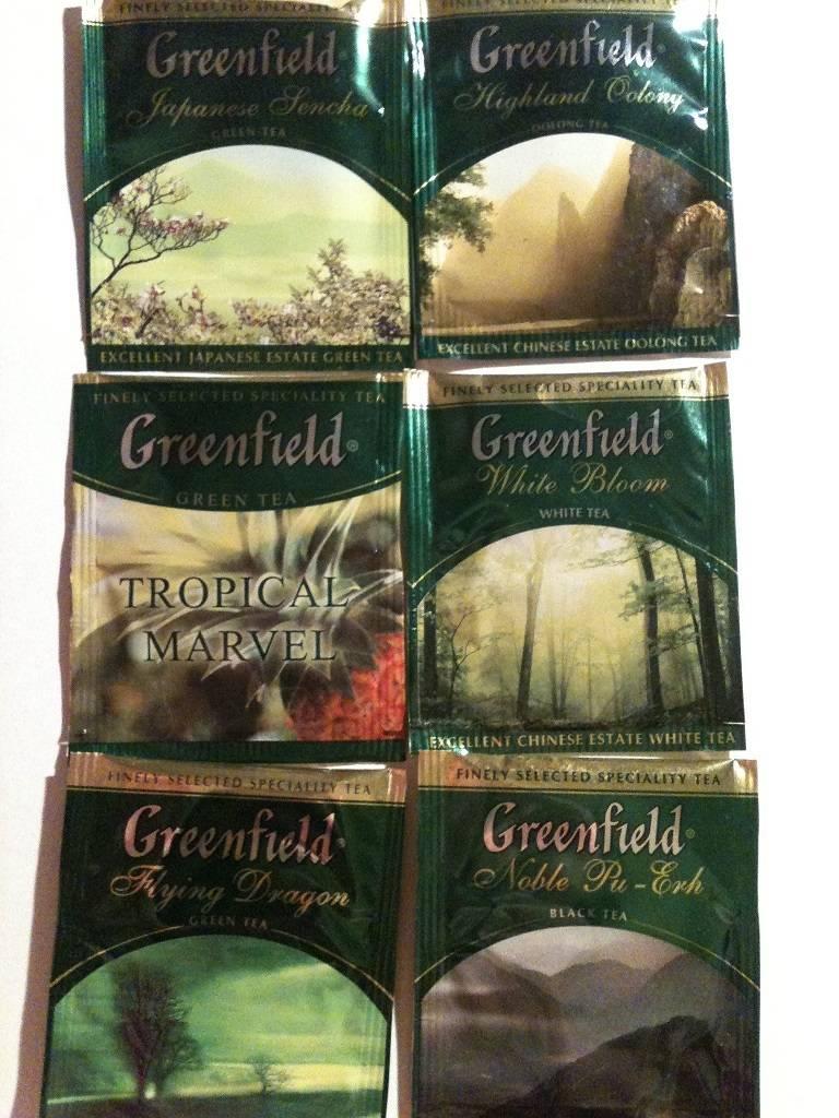 Зеленый чай гринфилд в пакетиках польза и вред