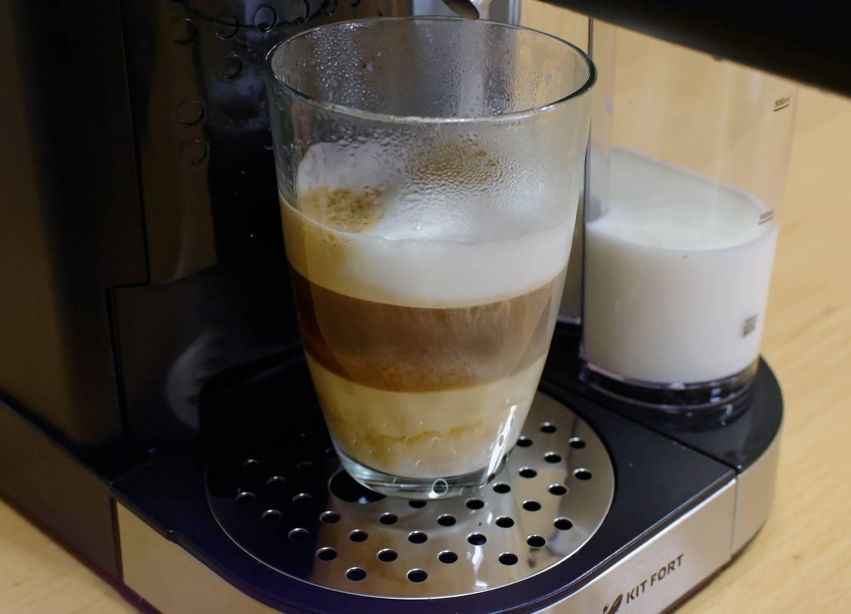 Как приготовить капучино в кофемашине