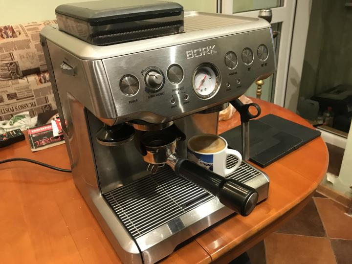Кофеварка рожковая bork c803 (серебристый) купить от 39000 руб в новосибирске, сравнить цены, отзывы, видео обзоры и характеристики