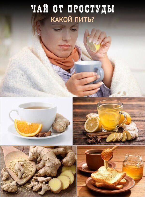 Чай от простуды: 9 рецептов лечебного чая, аптечные сборы
