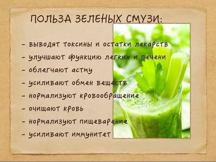 Рецепты смузи полезных для здоровья