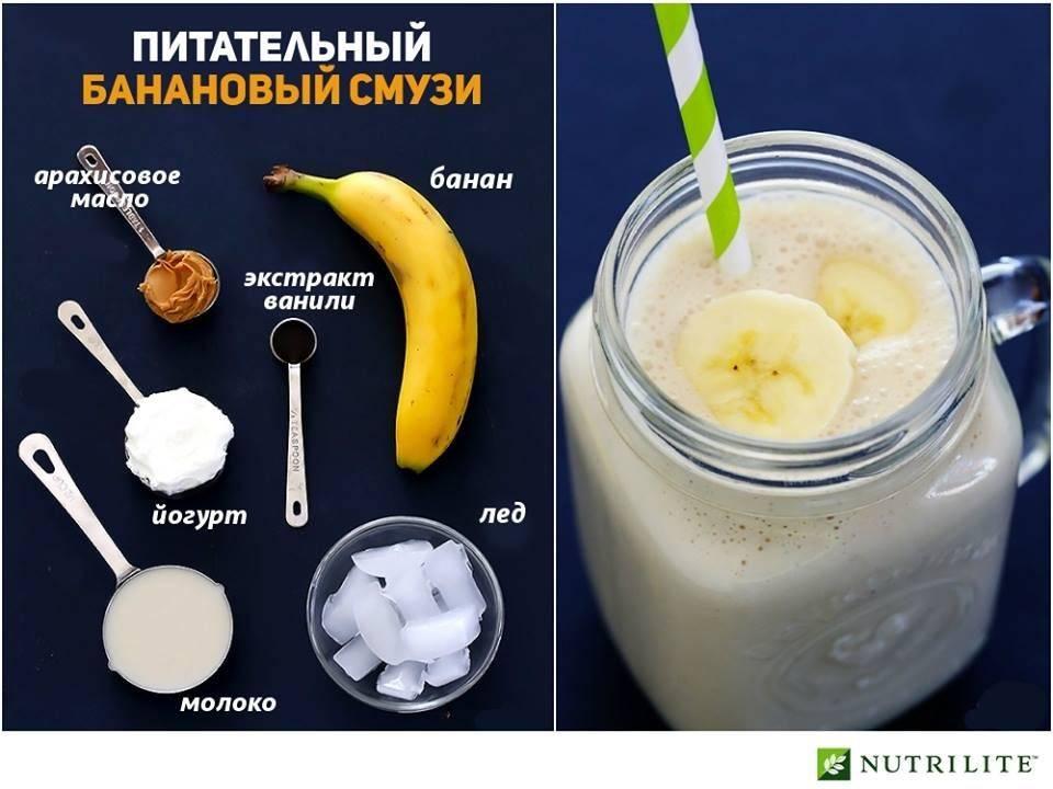 Смузи с бананом и творогом - пошаговый рецепт
