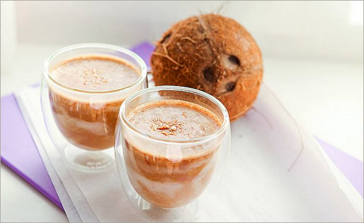Кофе с кокосовым молоком - польза и вред