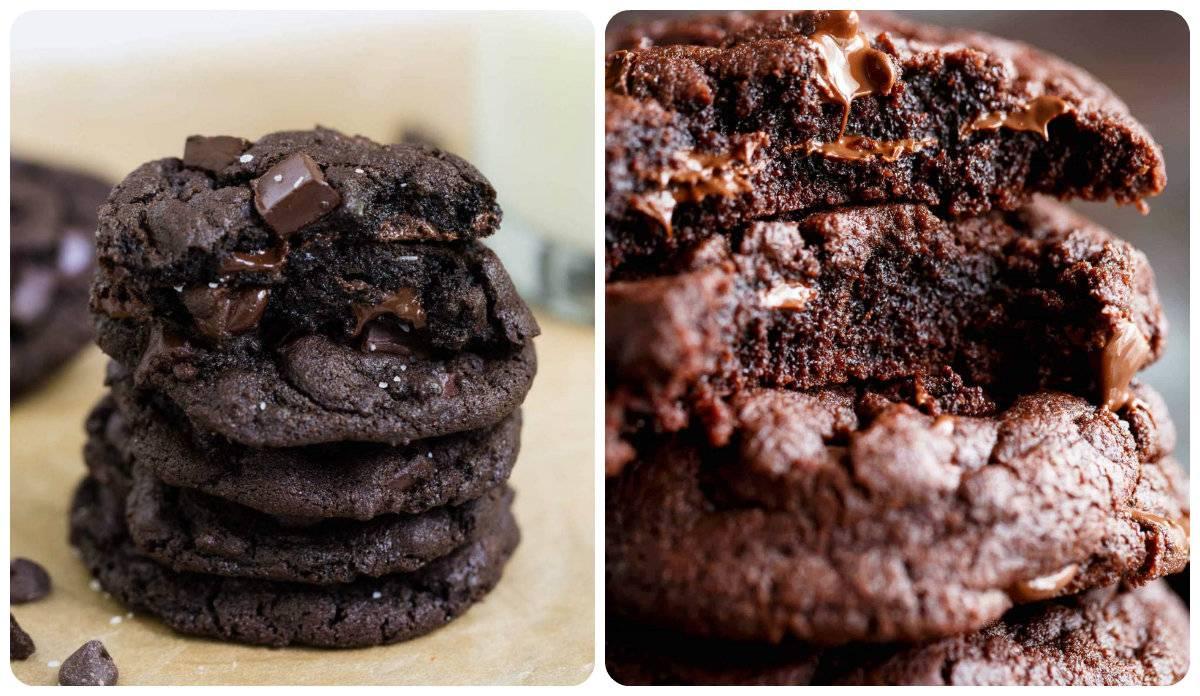 Подборка рецептов приготовления шоколадного печенья с какао