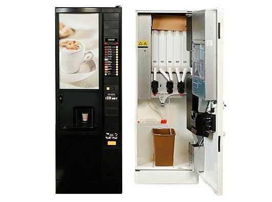 Бизнес на вендинговых кофейных автоматах